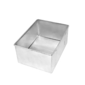 Forma Retangular fundo falso 25x17x10-  Doupan - Rizzo Confeitaria
