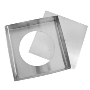 Forma Quadrada fundo falso - 20 X 10 - Doupan - Rizzo Confeitaria