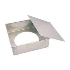 Forma Quadrada fundo falso - 15X 10 - Doupan - Rizzo Confeitaria