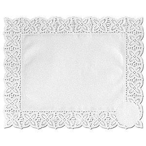 Toalhas Rendadas de Papel Mod. 2520 Branca Mago Rizzo Confeitaria