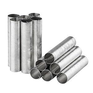 Forminha Canola Grossa de alumínio - 12 un - GoldPan Formas