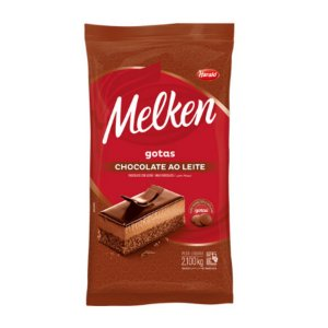 Chocolate Ao Leite Gotas Melken 2,1kg Harald