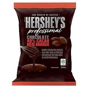 Chocolate 40% Cacau Meio Amargo - 2,01kg - Hershey's Professional