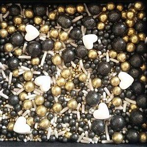 Sprinkles Black 60g - Morello - Rizzo Confeitaria