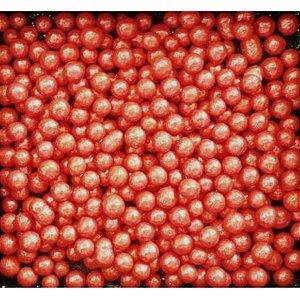 Perola Media Vermelha 60g - Morello - Rizzo Confeitaria