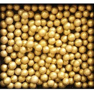 Perola Grande Dourada 60g - Morello - Rizzo Confeitaria