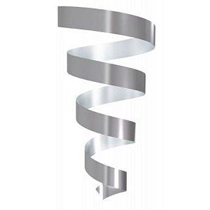 Rolo Fitilho Prata - 5mm x 50m - EmFesta