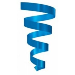 Rolo Fitilho Azul Escuro - 5mm x 50m - EmFesta