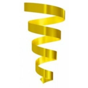 Rolo Fitilho Amarelo - 5mm x 50m - EmFesta