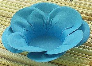 Forminha para Doces Floral Leka  Colorset Azul Claro - 40 unidades - Decorart