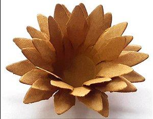Forminha para Doces Floral Lee Colorset Kraft (Capuccino) - 40 unidades - Decorart