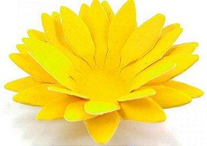 Forminha para Doces Floral Lee Colorset Amarelo Ouro - 40 unidades - Decorart