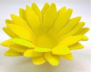 Forminha para Doces Floral Lee Colorset Amarelo Claro - 40 unidades - Decorart