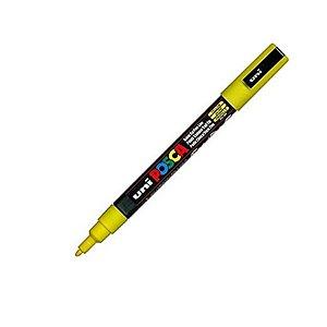 Caneta Posca PC-3M 1,3mm Amarelo - 01 unidade - Uni Posca