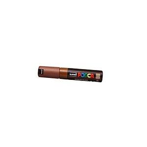 Caneta Posca PC 8k 8mm Brown_Marrom - 01 unidade - Uni Posca