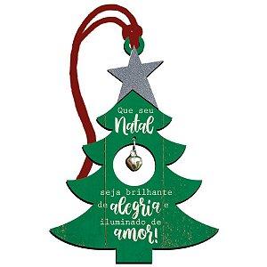 Decor Home Tag 5 Natal - Árvore Que Seu Natal... - DHT5N-007 - LitoArte Rizzo Confeitaria