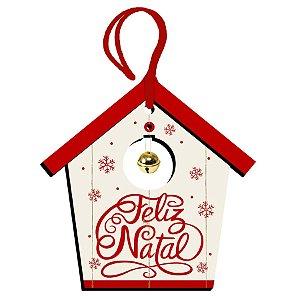 Decor Home Tag 5 Natal - Feliz Natal- DHT5N-003 - LitoArte Rizzo Confeitaria