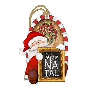 Decor Home Tag Natal - Feliz Natal - DHTN-001 - LitoArte Rizzo Confeitaria