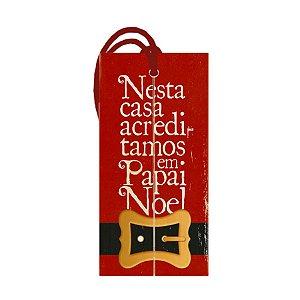 Decor Home Tag Natal - Nesta Casa - DHTN-010 - LitoArte Rizzo Confeitaria