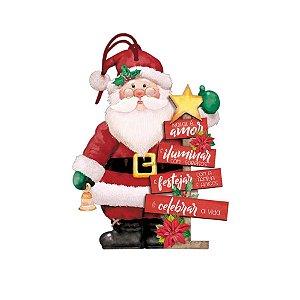 Decor Home Tag Natal - Papai Noel - DHTN-023 - LitoArte Rizzo Confeitaria