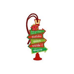 Decor Home Tag Natal - Desejo de Natal - DHTN-020 - LitoArte Rizzo Confeitaria