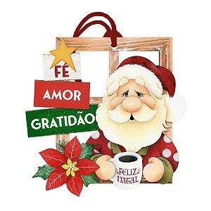 Decor Home Tag 7 Natal -Fé, Amor e Gratidão - DHT7N-001 - LitoArte Rizzo Confeitaria