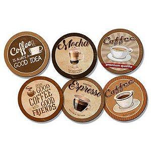 Kit Porta Copos - Coffee Premium - KPCL-006 - Litoarte Rizzo Confeitaria