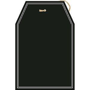 Placa Lousa em MDF -  Tag - DHLO2-015 - Litoarte Rizzo Confeitaria