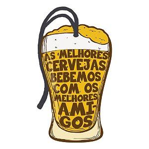 Decor Home Tag 2 - As Melhores Cervejas... - DHT2-033 - LitoArte Rizzo Confeitaria