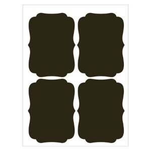 Etiqueta Lousa Adesiva em Vinil - Liso M - EAL-010 - LitoArte Rizzo Confeitaria