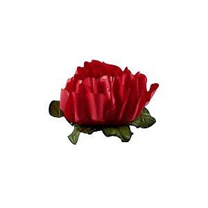 Forminha para Doces Finos - Rosa Maior Vermelha 40 unidades - Decora Doces - Rizzo
