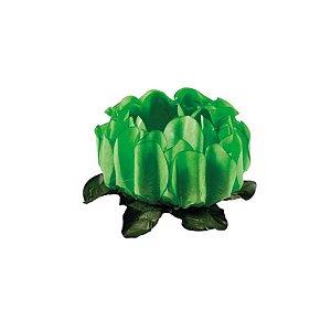 Forminha para Doces Finos - Rosa Maior Verde Limão Claro - 40 unidades - Decora Doces - Rizzo
