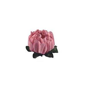 Forminha para Doces Finos - Rosa Maior Rosa Seco 1 40 unidades - Decora Doces - Rizzo