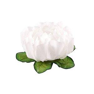 Forminha para Doces Finos - Rosa Maior Branca 40 unidades - Decora Doces - Rizzo