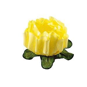 Forminha para Doces Finos - Rosa Maior Amarelo Claro - 40 unidades - Decora Doces - Rizzo