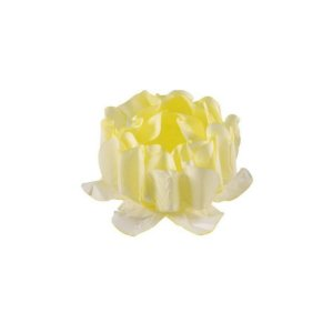 Forminha para Doces Finos - Rosa Maior Amarelo Candy 40 unidades - Decora Doces - Rizzo