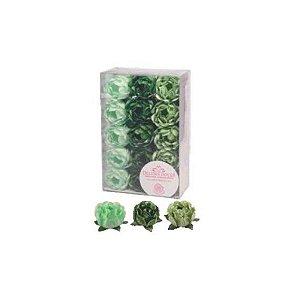 Forminha para Doces Finos - Bela Tons Verdes - 30 unidades - Decora Doces - Rizzo