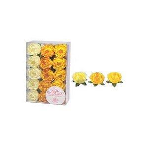 Forminha para Doces Finos - Bela Tons Amarelos - 30 unidades - Decora Doces - Rizzo