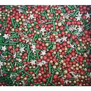 Sprinkles Natal 5 - 60g - Morello - Rizzo Confeitaria