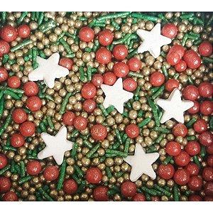 Sprinkles Natal 3 60g - Morello - Rizzo Confeitaria