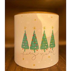 Tira Decorativa Natal Arvore - Tam M - 5 unidades - Rizzo Confeitaria