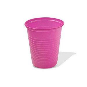 Copo Festa Descartável 200ml Rosa Pink 50 unidades Trik Trik