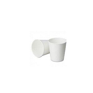 Copo de papel Branco Biodegradável - 40 un - 60 ml - Silver Festas