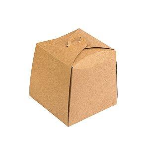 Caixa Panetone Kraft 100g 10x10x10 com 10 un Assk Rizzo Confeitaria