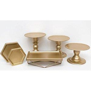 Kit Comemore MAIS Premium - 31 Dourado - 01 Unidade - Só Boleiras - Rizzo