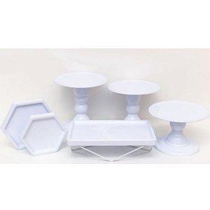 Kit Comemore MAIS Premium - 26 Branco - 01 Unidade - Só Boleiras - Rizzo