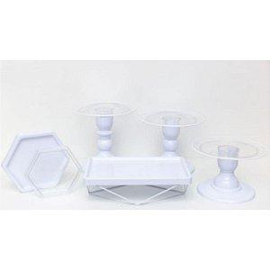 Kit Comemore MAIS Clean - 27 Branco - 01 Unidade - Só Boleiras - Rizzo