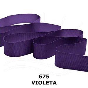 Fita Gorgurão Progresso 11mm nº2 - 10m Cor 675 Violeta - 01 unidade