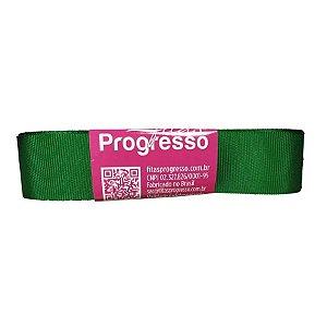 Fita Gorgurão Progresso 22mm nº5 - 10m Cor 217 Verde Bandeira - 01 unidade