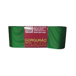 Fita Gorgurão Progresso 38mm nº9 - 10m Cor 217 Verde Bandeira - 01 unidade